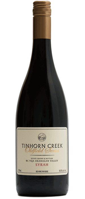 Tinhorn Creek Vineyards 2011 Syrah (Shiraz) Bottle