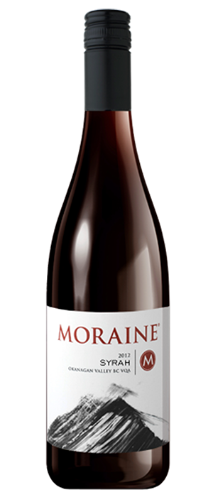 Moraine Estate Winery 2012 Syrah (Shiraz) Bottle
