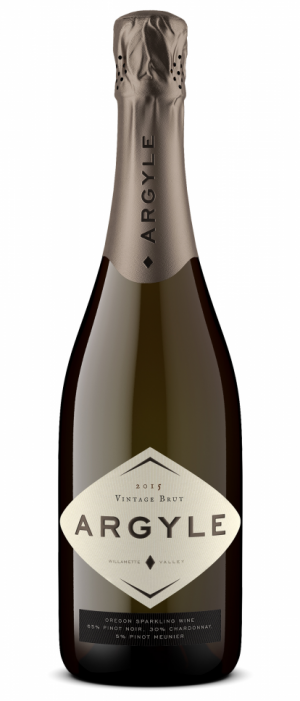 Argyle Vintage Brut 2015 Bottle