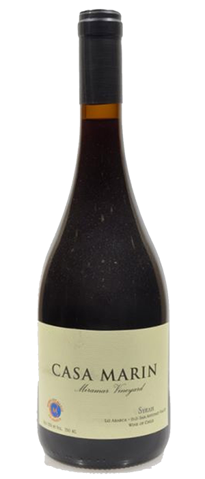 Vina Casa Marin 2009 Syrah (Shiraz) Bottle