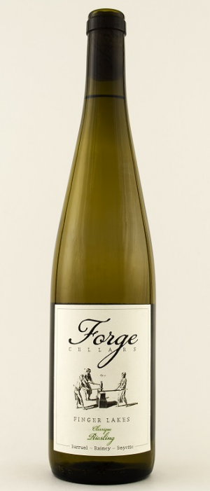 Forge Cellars Riesling Classique 2015 Bottle