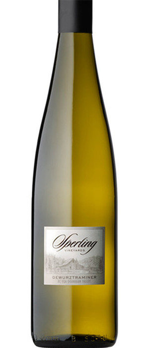 Sperling Vineyards 2010 Gewürztraminer Bottle
