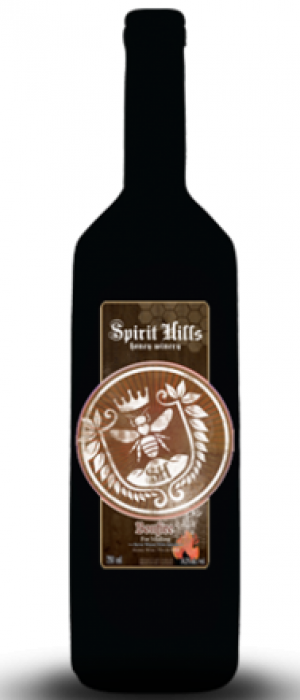 Spirit Hills Honey Winery Bonfire Bottle