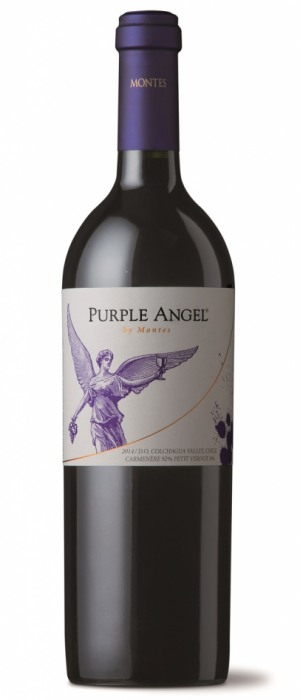 Purple Angel by Montes Bottle