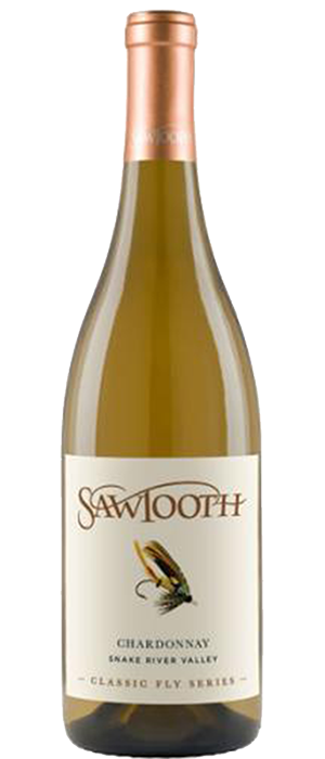 Sawtooth Classic Fly Series Chardonnay Bottle