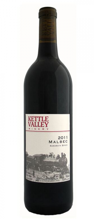 Kettle Valley Winery 2011 Malbec Bottle
