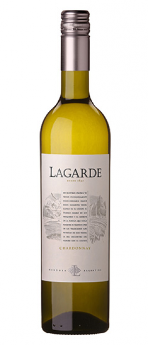 Bodega Lagarde 2018 Chardonnay Bottle