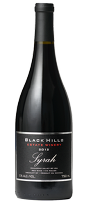 Black Hills Estate Winery 2012 Syrah (Shiraz) Bottle