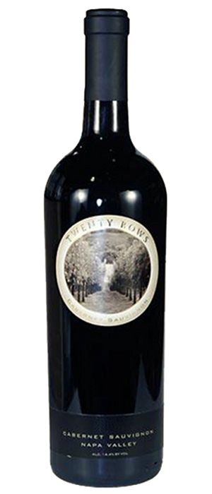 Twenty Rows 2013 Cabernet Sauvignon Bottle