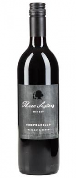 Three Sisters Winery 2016 Tempranillo Bottle