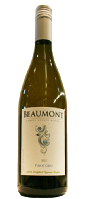 Beaumont Family Estate Winery 2012 Pinot Gris (Grigio) Bottle