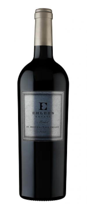 Ehlers Estate 2015 Merlot Bottle