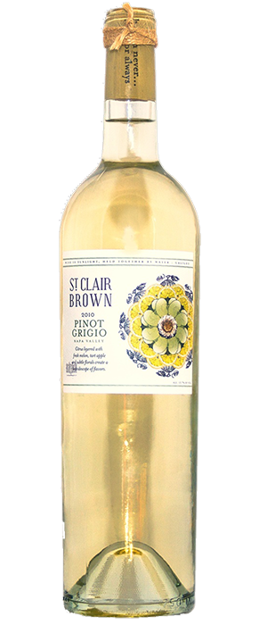 St. Clair Brown 2010 Pinot Gris (Grigio) Bottle