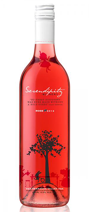 Serendipity Winery 2011 Roses Bottle