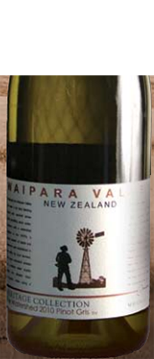 The Watershed  Pinot Gris Bottle