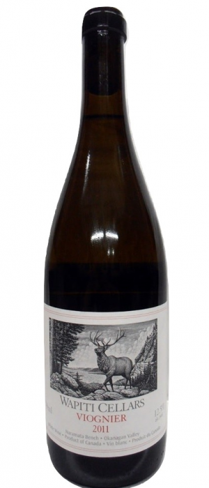 Foxtrot Vineyards 2012 Wapiti Cellars Viognier Bottle