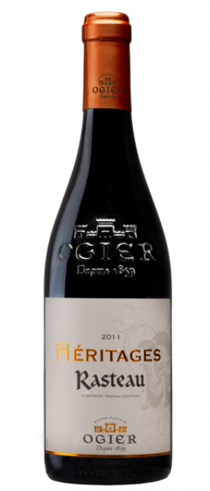 Ogier 2012 Hèritages Rasteau Bottle