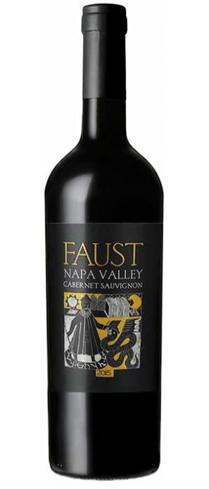 Faust Winery 2015 Cabernet Sauvignon   Red Wine