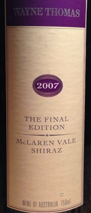 The Final Edition Bottle