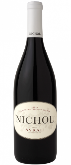 Nichol Vineyard 2015 Nate's Vineyard Syrah Bottle