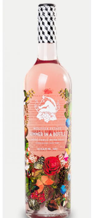 Wölffer Estate Vineyard Summer in a Bottle Rosé 2014 Bottle