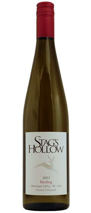 Stag's Hollow 2013 Riesling Bottle