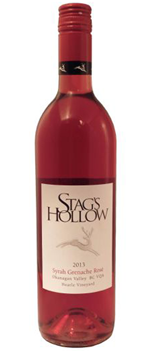 Syrah Grenache Rosé Bottle