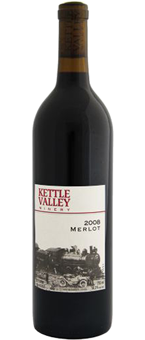 Kettle Valley Winery 2008 Merlot Bottle
