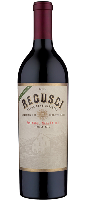 Regusci Zinfandel Stags Leap District Bottle