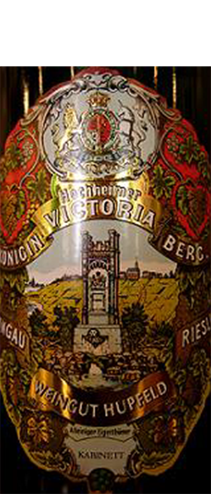 Estate Königin Victoriaberg 2010 Riesling Bottle