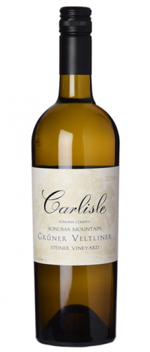 Carlisle Steiner Vineyard 2014 Grüner Veltliner Bottle