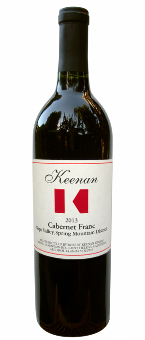 Robert Keenan Winery 2013 Cabernet Franc | Red Wine