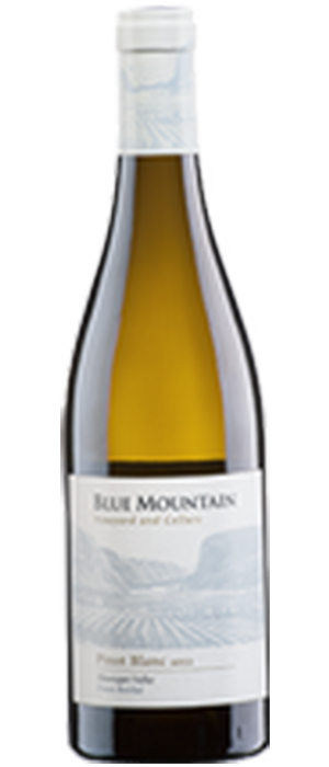 Blue Mountain Vineyard and Cellars 2013 Pinot Blanc Bottle