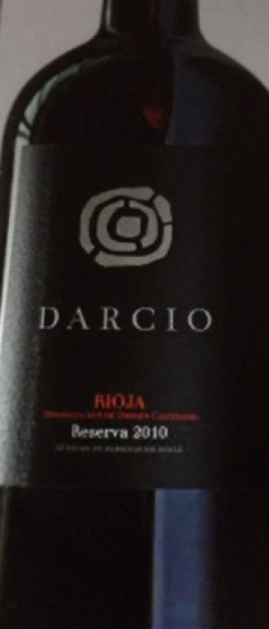 Darcio Reserva 2010 Rioja | Red Wine