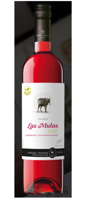 Las Mulas 2014 Rosé Bottle