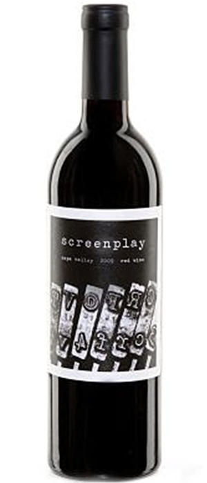 Screenplay 2010 Red Wine Bottle