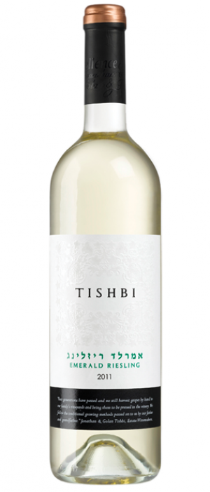 Tishbi Emerald Riesling Bottle