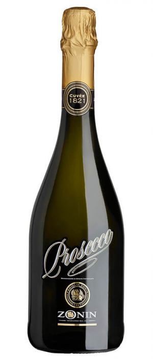 Zonin Cuvée 1821 Brut Prosecco DOC Bottle