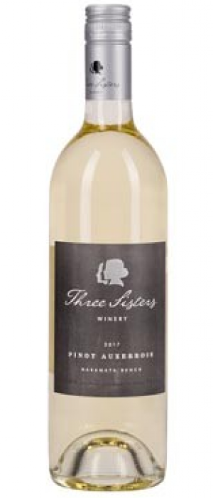 Three Sisters Winery 2017 Pinot Auxerrois Bottle