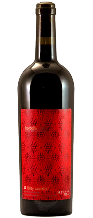 Dirty Laundry Bordello 2010 Bottle