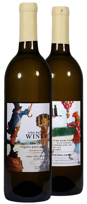 TH Wines 2012 Pinot Gris (Grigio) blend Bottle
