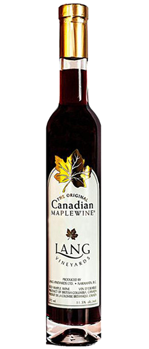The Original Canadian Maple Wine – Red Bottle