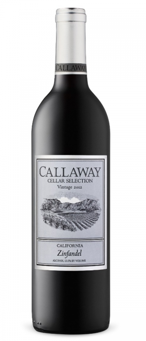 Callaway Cellar Selection 2012 Zinfandel | Red Wine
