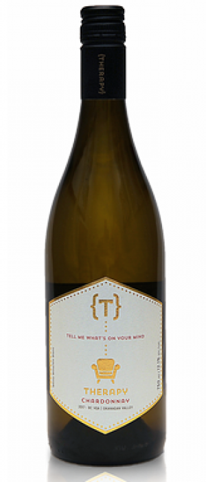 Therapy Vineyards 2017 Chardonnay Bottle