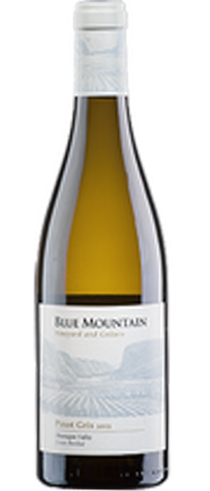 Blue Mountain Vineyard and Cellars 2013 Pinot Gris (Grigio) Bottle