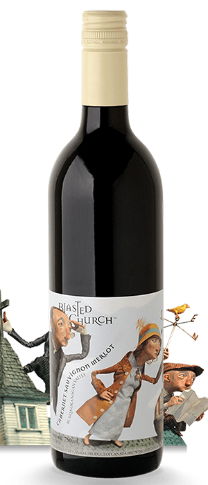 Blasted Church Vineyards 2011 Cabernet/Merlot Blend Bottle