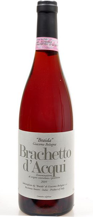 Brachetto d'Acqui Dessert wine Bottle