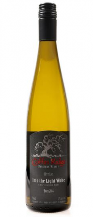 Coffin Ridge Boutique Winery 2016 Into The Light White Bottle