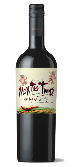 Montes 2016 Twins Red Blend Bottle