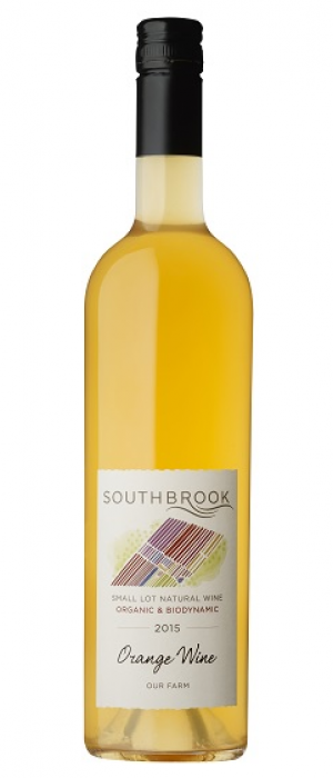 Southbrook Small Lot Natural Wine 2015 Orange Wine Bottle
